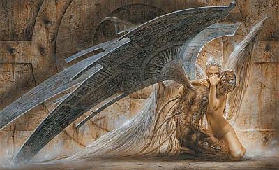 Exklusiv bei uns - Luis Royo Wandbilder