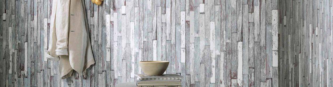 Holztapete  Holztapeten sind immer aktuell bei der Wandgestaltung