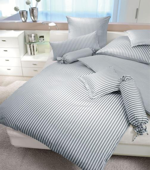 mako silk satin bed linen modernclassic 3912-08-1 80/80 cm