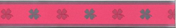 self-adhesive border with clovers 3556-01
