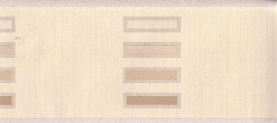 Paper-backing border with rectangle pattern 5657-01