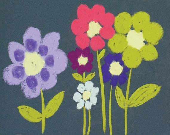 Mural Lollypop Blooms EV1348