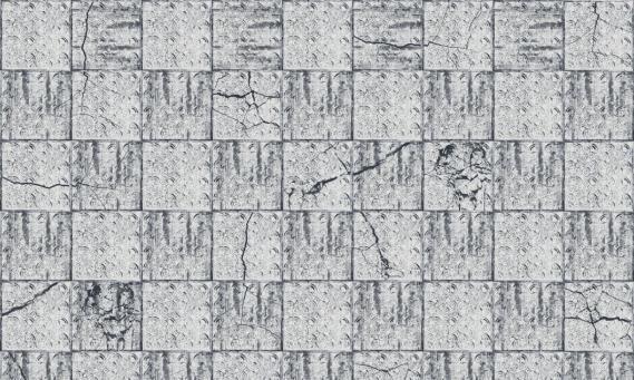 Fototapete Windmill Avenue Broken Tiles 6332018