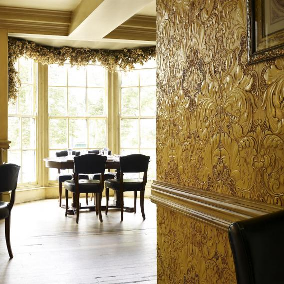 hochwertige tapeten und stoffe lincrusta italian. Black Bedroom Furniture Sets. Home Design Ideas