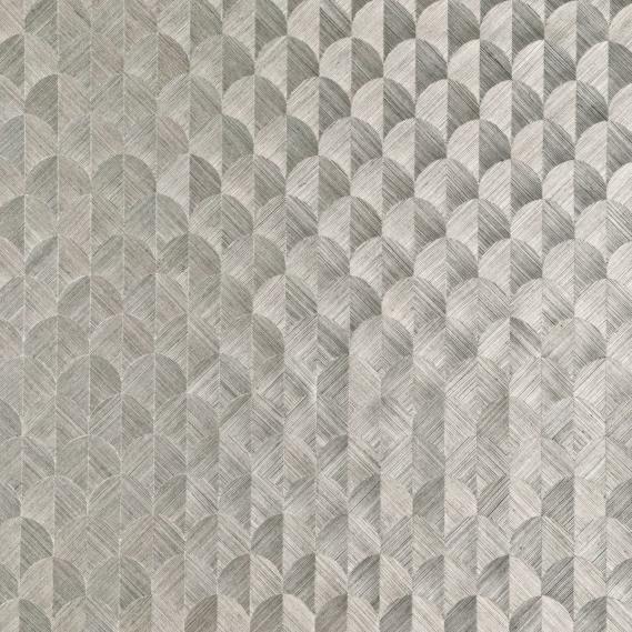 Hochwertige tapeten und stoffe vlies sisal tapete scale for Tapete silber grau