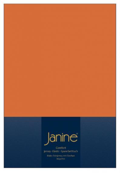 stretch bed sheet elastic rust orange 5002-67-2 150/200
