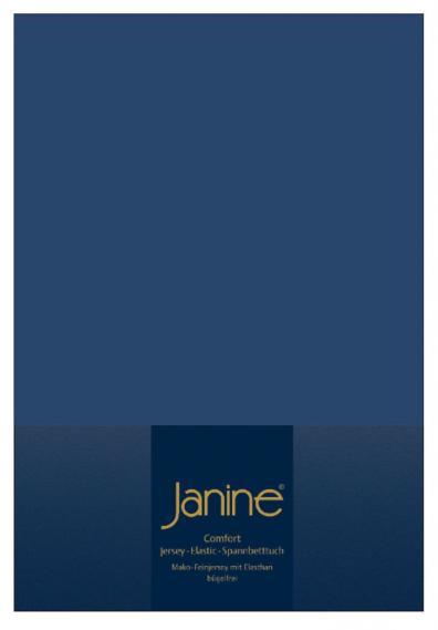 stretch bed sheet elastic dark blue 5002-82-1 100/200