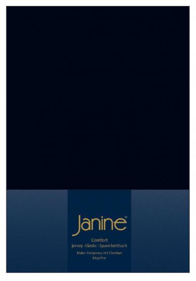 Spannbetttuch Elastic schwarz 5002-98
