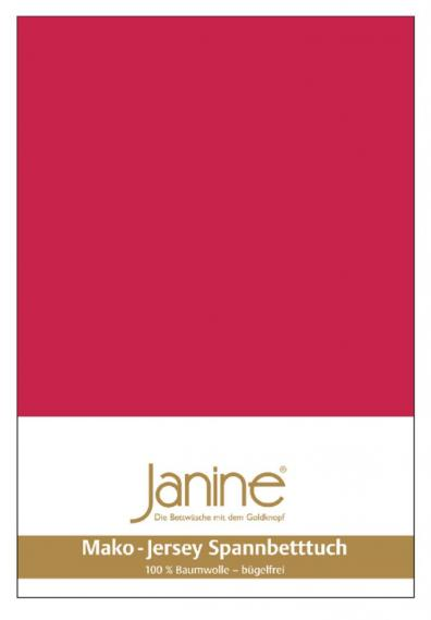 stretch bed sheet jersey red 5007-61