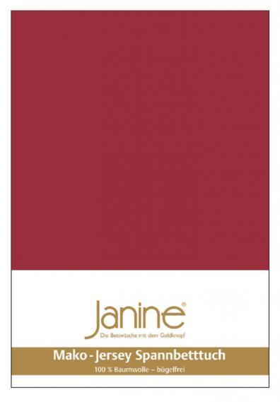 stretch bed sheet jersey dark red 5007-71