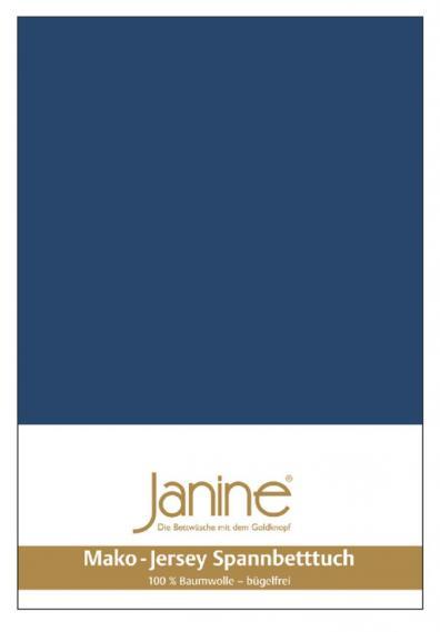 Spannbetttuch Jersey marine 5007-82