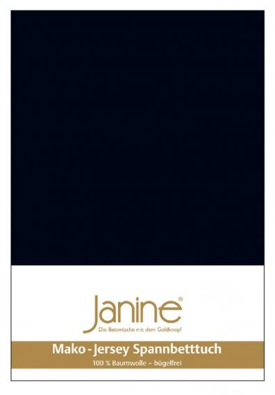 stretch bed sheet jersey black 5007-98