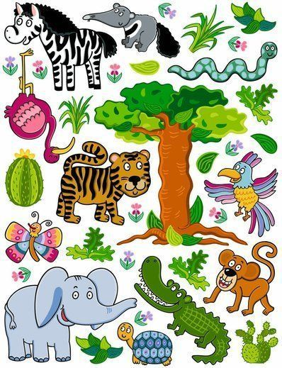 sticker für zoo friends 350-0206