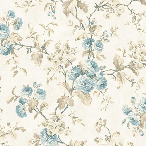 hochwertige tapeten und stoffe papiertapete rosery rosenranken 040845 decowunder. Black Bedroom Furniture Sets. Home Design Ideas