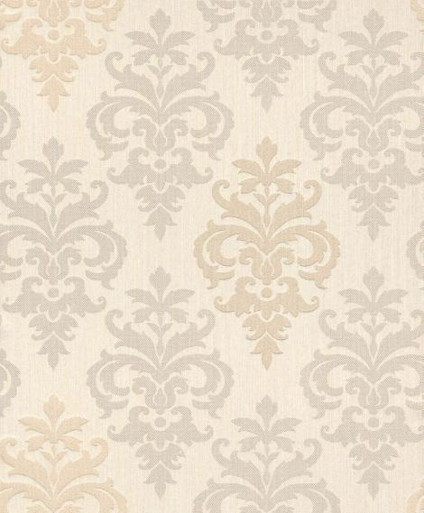 decowunder tapetenshop stofftapete mit ornamenten 073408. Black Bedroom Furniture Sets. Home Design Ideas