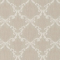 hochwertige tapeten und stoffe stofftapete mit barock muster 95629 1 decowunder. Black Bedroom Furniture Sets. Home Design Ideas