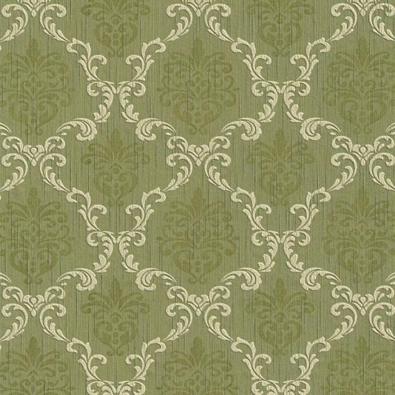hochwertige tapeten und stoffe stofftapete mit barock muster 95629 4 decowunder. Black Bedroom Furniture Sets. Home Design Ideas