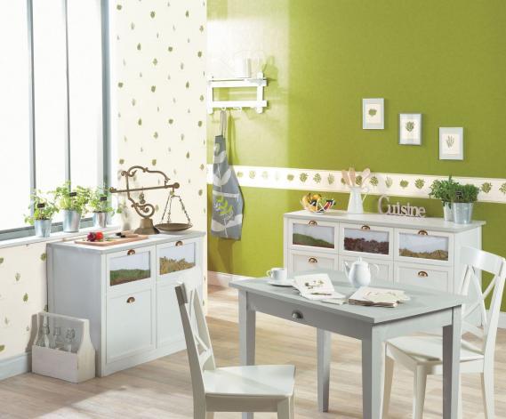 hochwertige tapeten und stoffe k chentapete romarin 60347200 decowunder. Black Bedroom Furniture Sets. Home Design Ideas
