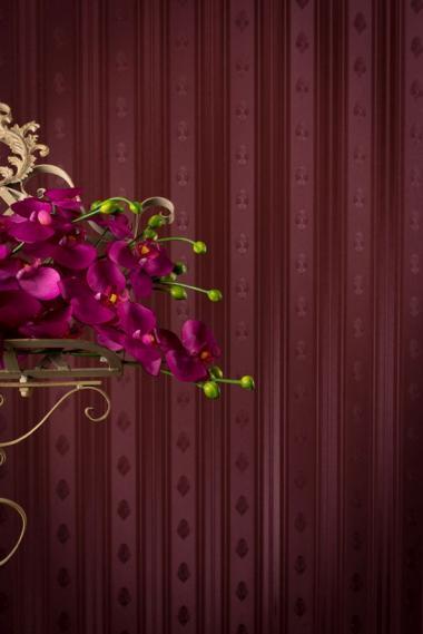 hochwertige tapeten und stoffe vlies acryl tapete mit perlfarbglanzpigmenten 300011 decowunder. Black Bedroom Furniture Sets. Home Design Ideas