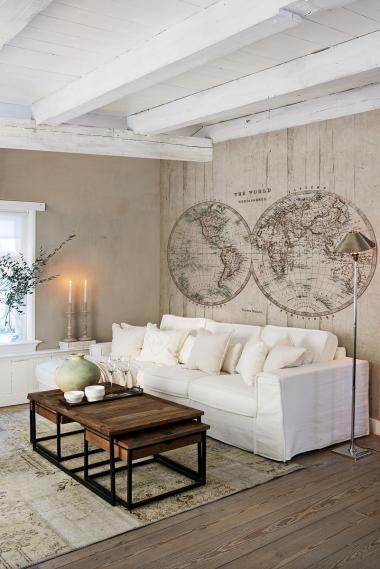 hochwertige tapeten und stoffe no limits wallprints wandbild riviera maison 30602 decowunder. Black Bedroom Furniture Sets. Home Design Ideas