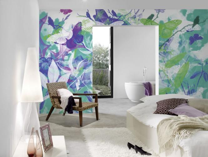fototapete butterfly garden 470 004 ap digital von architects paper fototapete butterfly. Black Bedroom Furniture Sets. Home Design Ideas