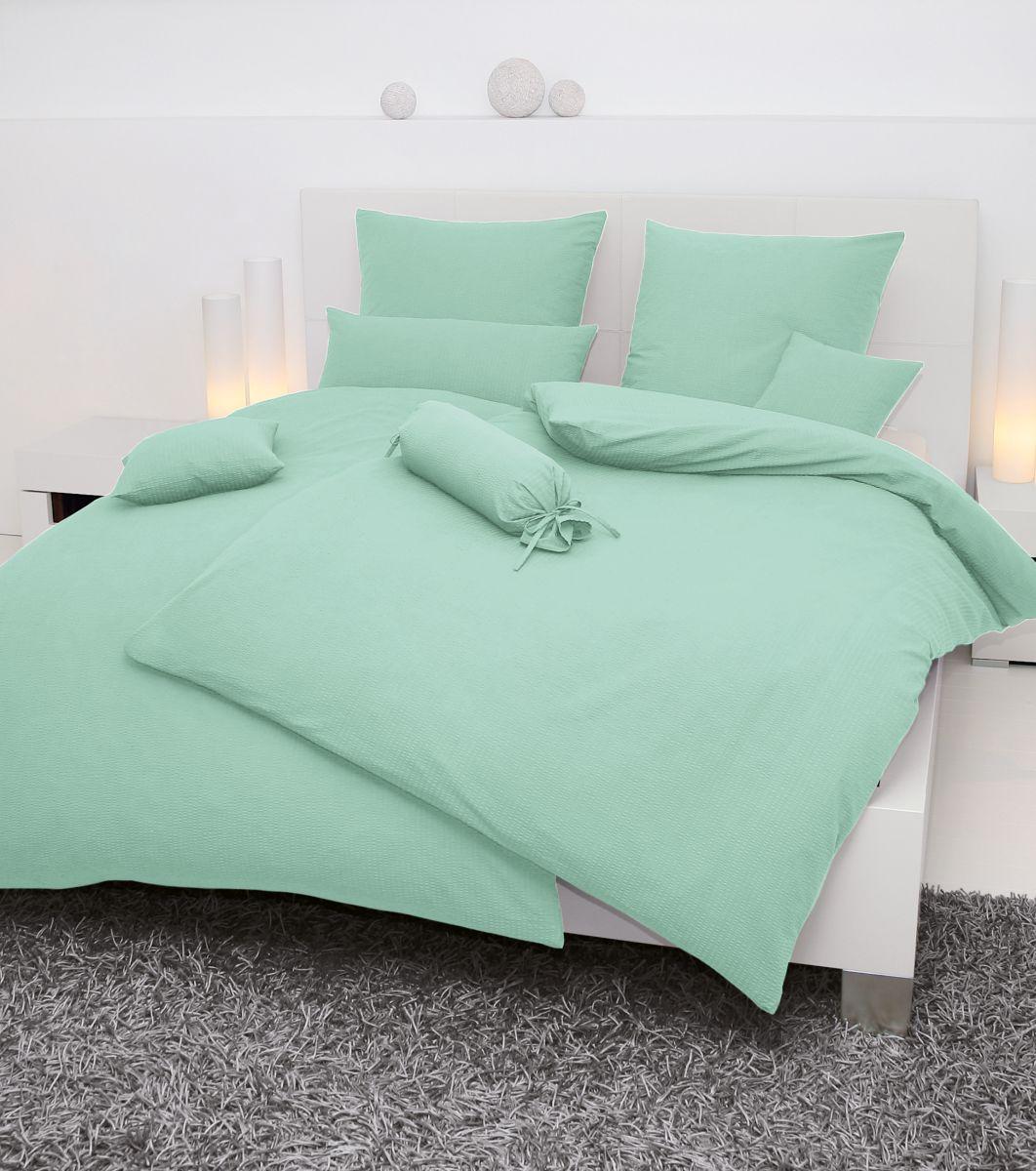 hochwertige tapeten und stoffe mako soft seersucker bettw sche piano 0125 26 decowunder. Black Bedroom Furniture Sets. Home Design Ideas