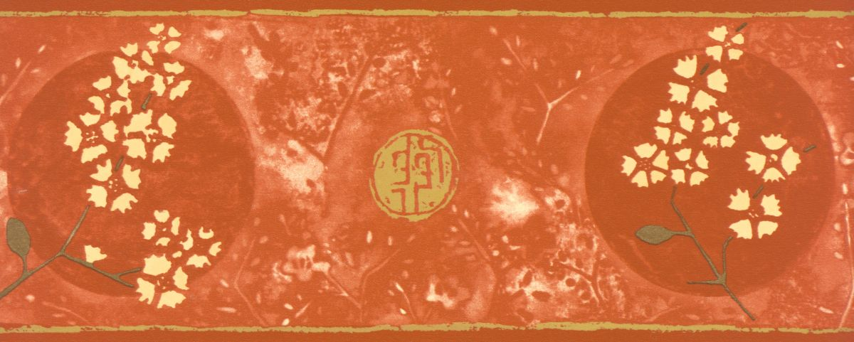 Selbstklebende Tapeten Holz : Decowunder Tapeten Selbstklebende Bord?re asiatisches Motiv 30339