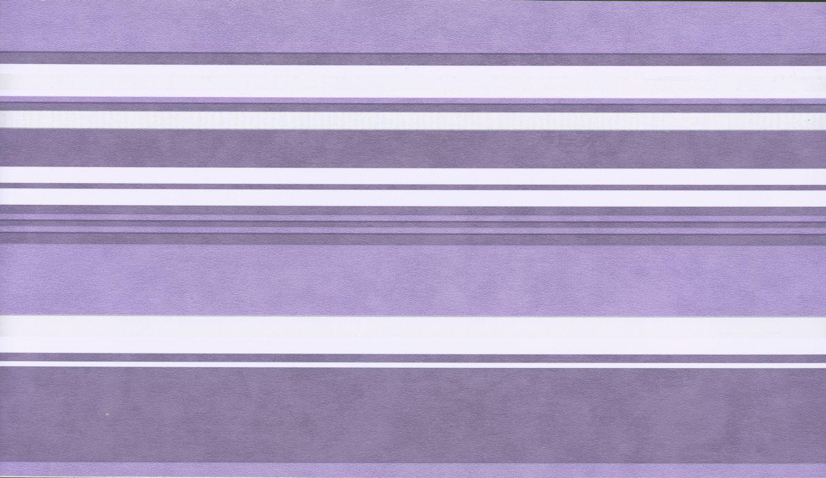 Selbstklebende Tapeten Streifen : Selbstklebende Bord?re Streifen Lila 3600-04