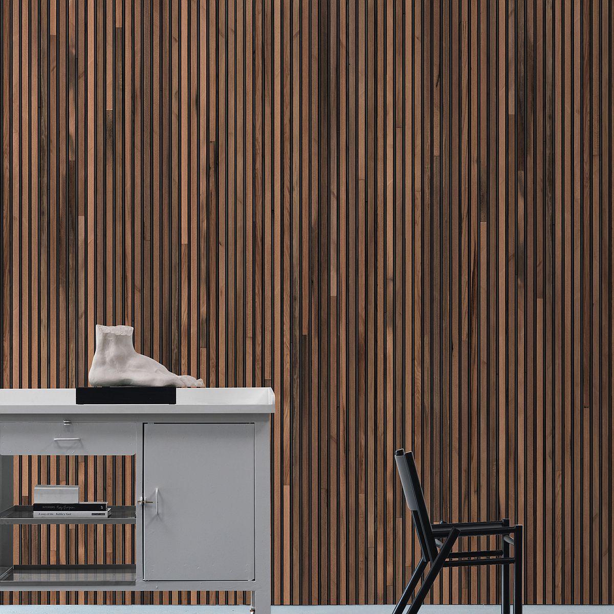 hochwertige tapeten und stoffe vintage tapete digitaldruck nlxl timber strips tim 01 decowunder. Black Bedroom Furniture Sets. Home Design Ideas