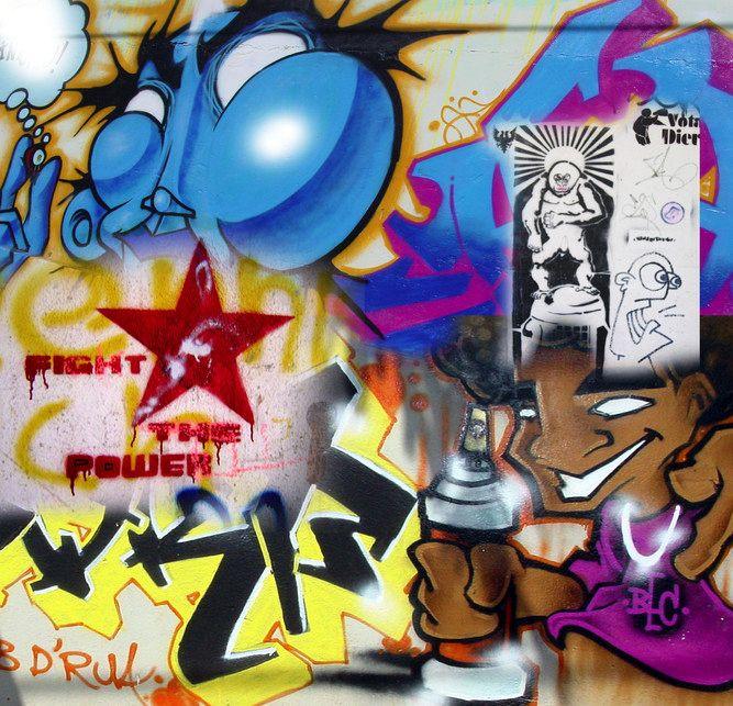 Jugendzimmer-Tapete Mit Graffiti : Decowunder Tapeten Fototapete Graffity Tag 30111 Cool Dudes – B.N