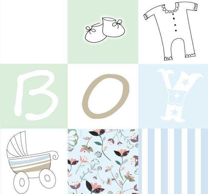 hochwertige tapeten und stoffe fototapete baby junge rechtes teil ev1403 decowunder. Black Bedroom Furniture Sets. Home Design Ideas