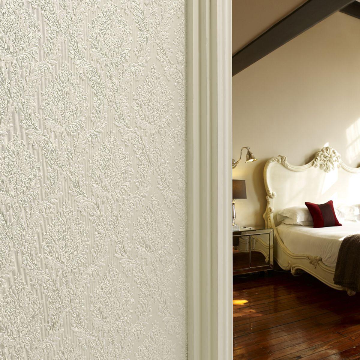 hochwertige tapeten und stoffe lincrusta sophia rd1888. Black Bedroom Furniture Sets. Home Design Ideas