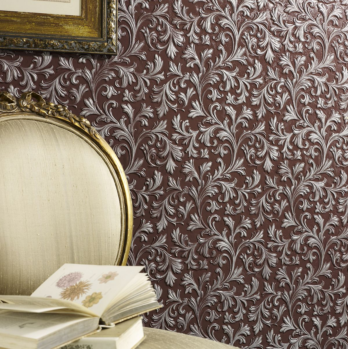 decowunder wallpapers lincrusta acanthus rd1960 to buy at. Black Bedroom Furniture Sets. Home Design Ideas