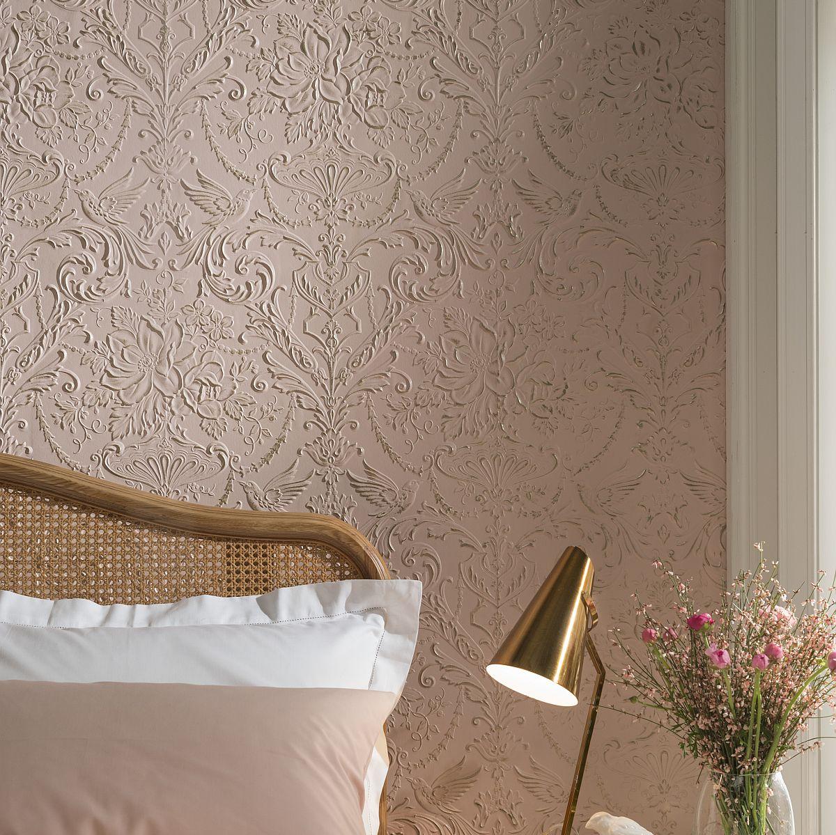 hochwertige tapeten und stoffe lincrusta passeri rd1971. Black Bedroom Furniture Sets. Home Design Ideas