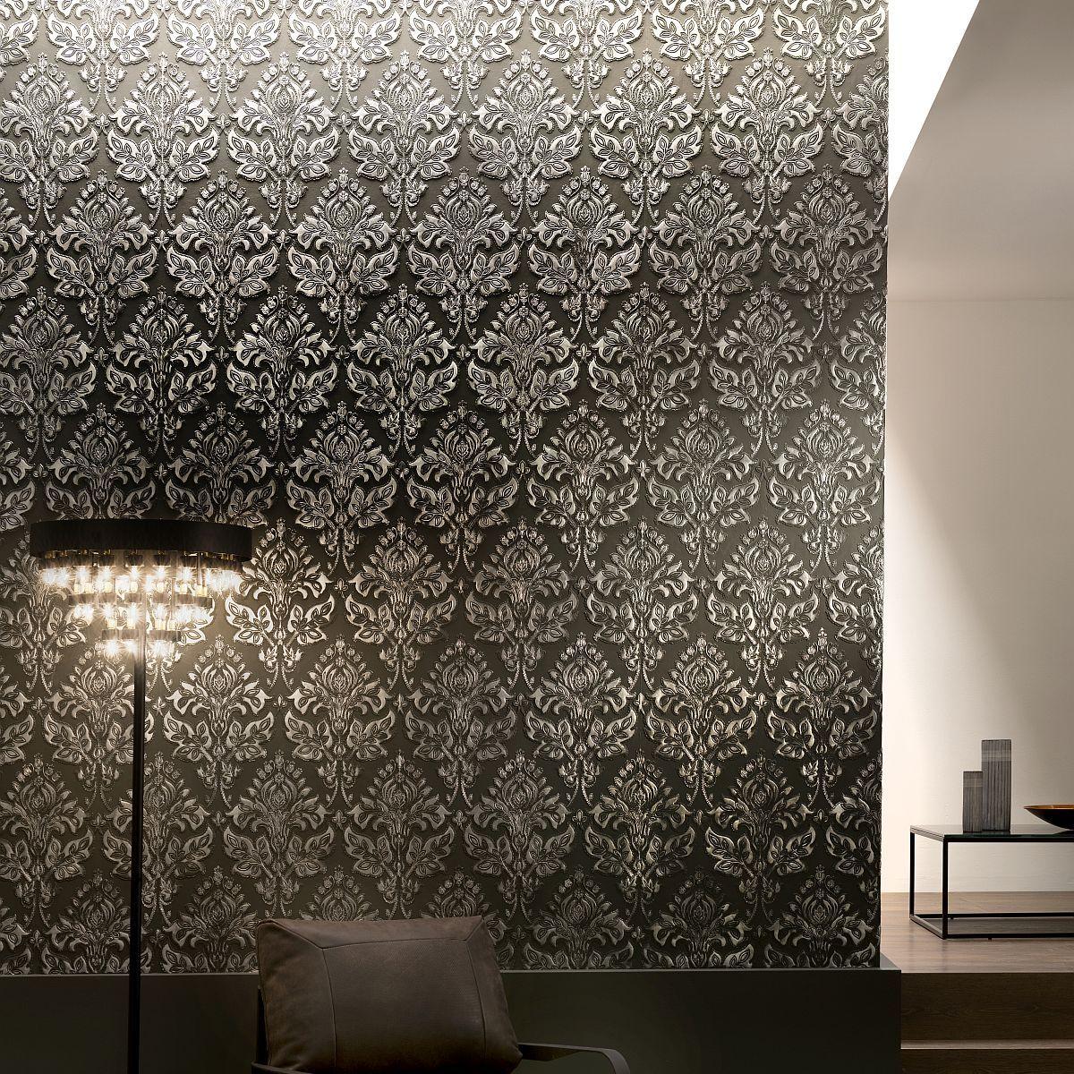 hochwertige tapeten und stoffe lincrusta tapestry rd1972. Black Bedroom Furniture Sets. Home Design Ideas