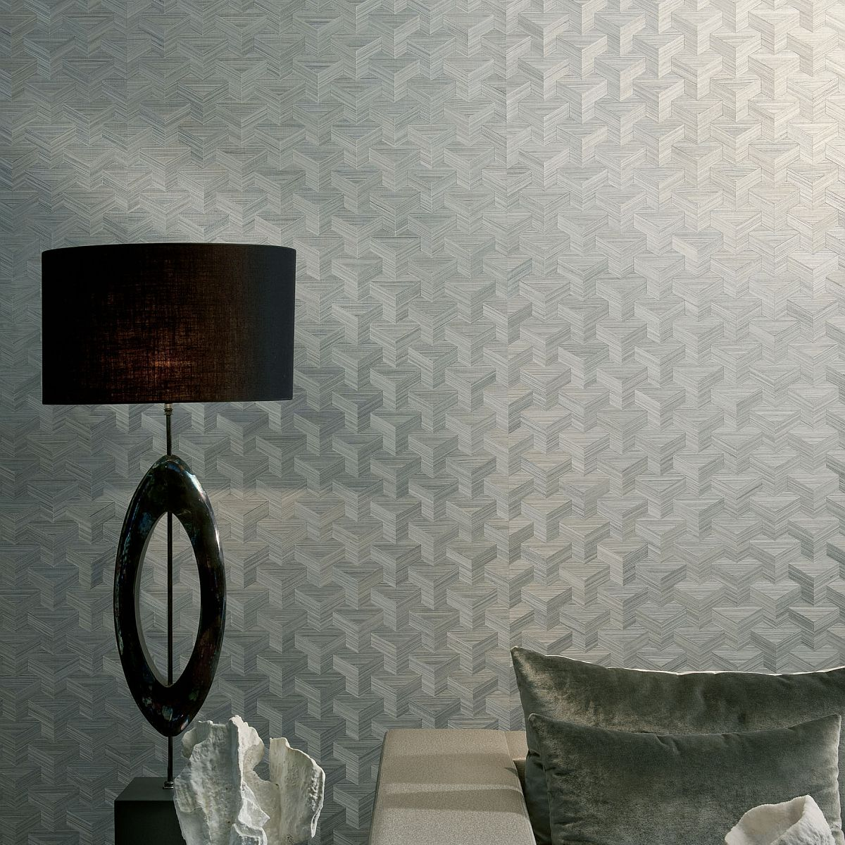 Tapeten Jugendzimmer Vlies : Geometric Arte Wall Covering