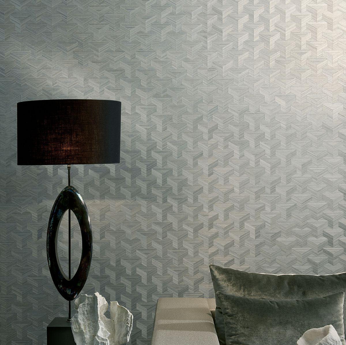Exklusive Landhaus Tapeten : Geometric Arte Wall Covering