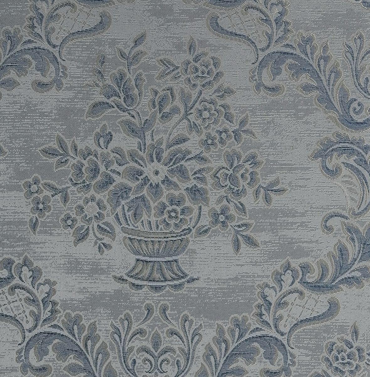 Hochwertige tapeten und stoffe stofftapete artemis blau - Artemis tapete ...