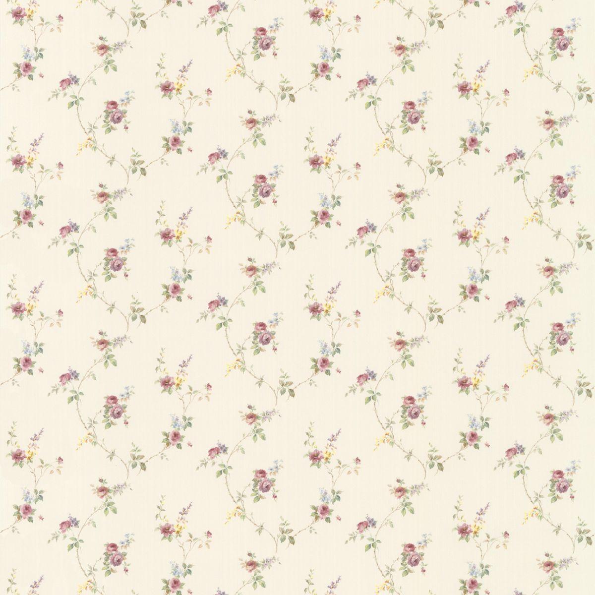 hochwertige tapeten und stoffe landhaus tapete floral prints pr33809 decowunder. Black Bedroom Furniture Sets. Home Design Ideas