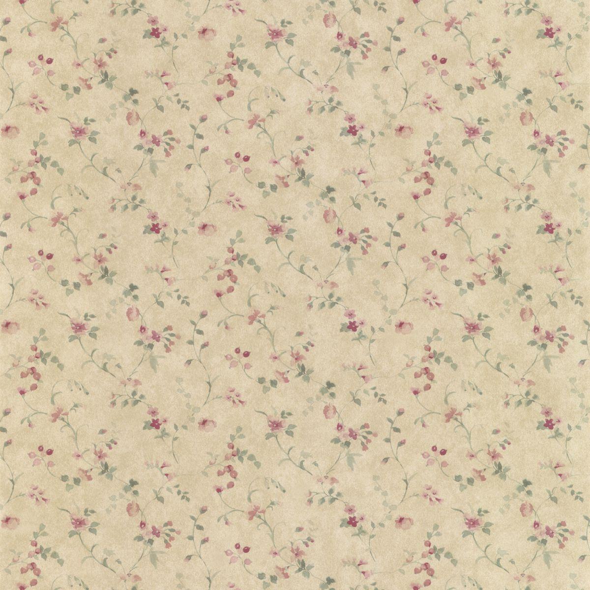 Landhaus Tapeten G?nstig : Decowunder Tapeten Landhaus Tapete Floral Prints PR33822 g?nstig