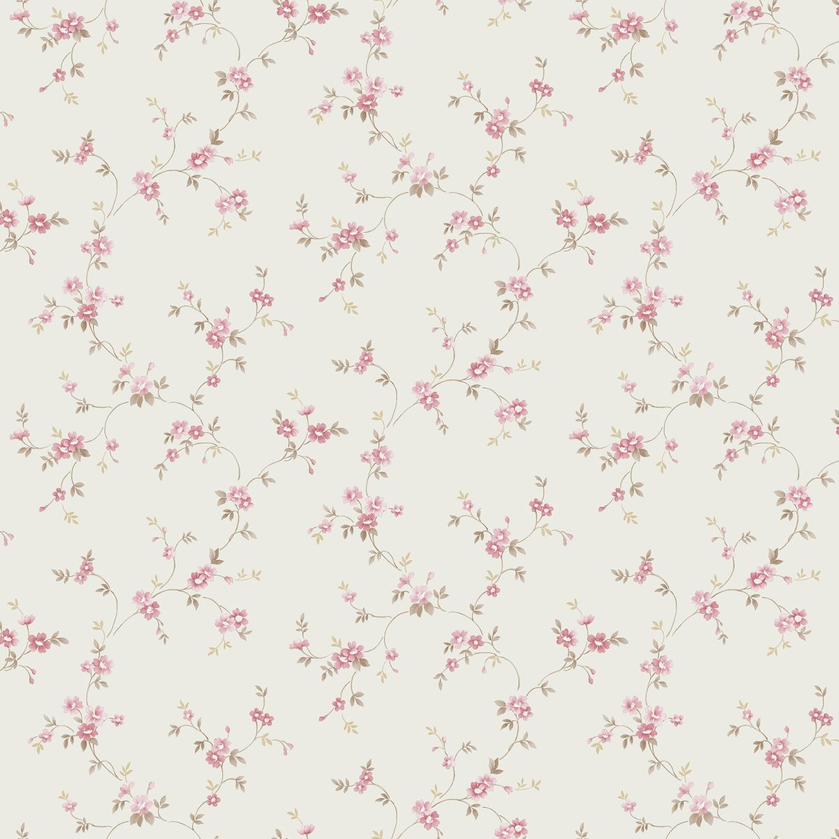 Decowunder Tapeten Landhaus Tapete Floral Prints PR33834 ...