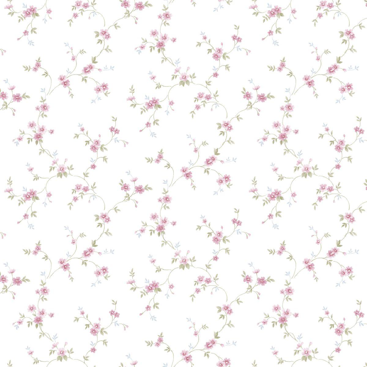 decowunder tapeten landhaus tapete floral prints pr33838. Black Bedroom Furniture Sets. Home Design Ideas