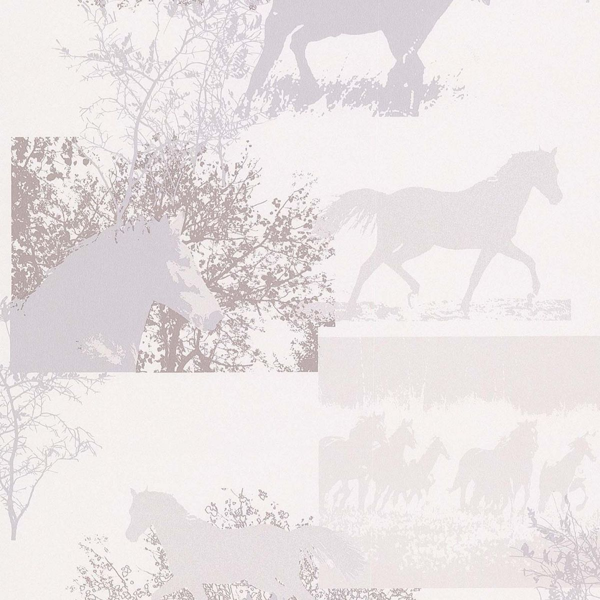 hochwertige tapeten und stoffe papiertapete mit pferden. Black Bedroom Furniture Sets. Home Design Ideas