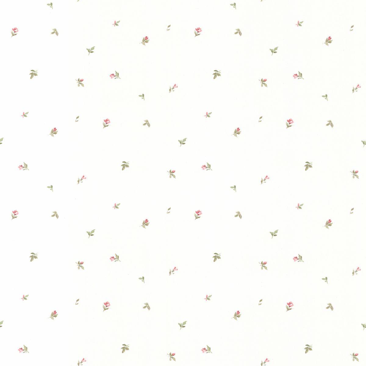 hochwertige tapeten und stoffe papier vinyl tapete mit kleinen bl ten pp27833 decowunder. Black Bedroom Furniture Sets. Home Design Ideas