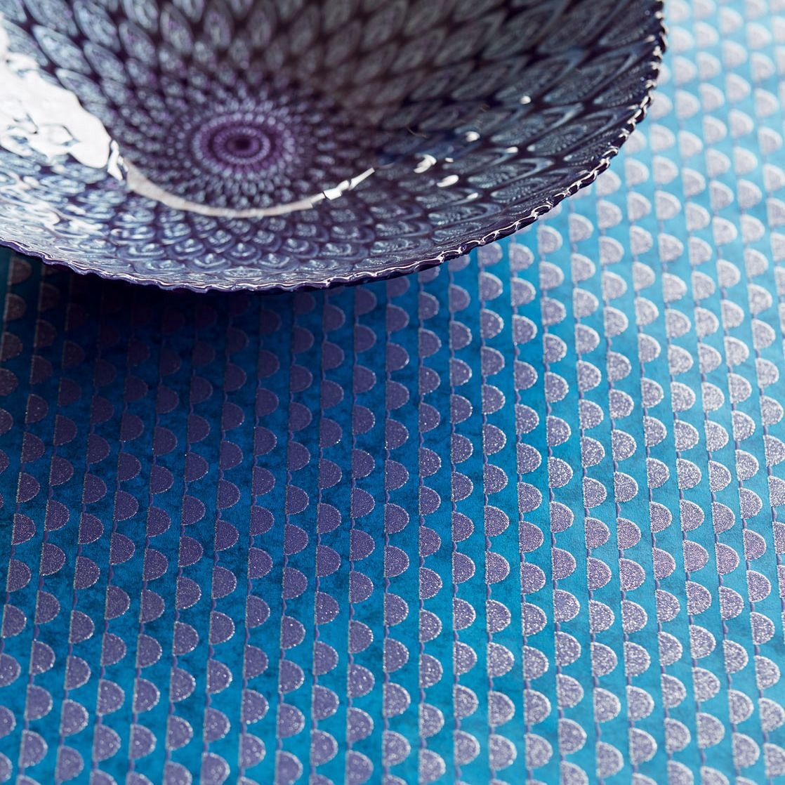 High-quality wallpapers and fabrics   non-woven wallpaper glitter ...