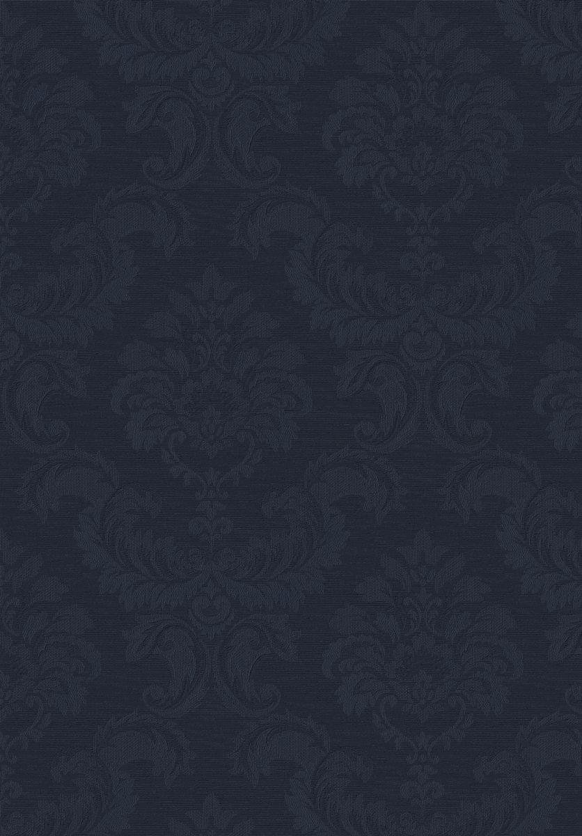 hochwertige tapeten und stoffe tapete simply silks barock blau sk34734 decowunder. Black Bedroom Furniture Sets. Home Design Ideas