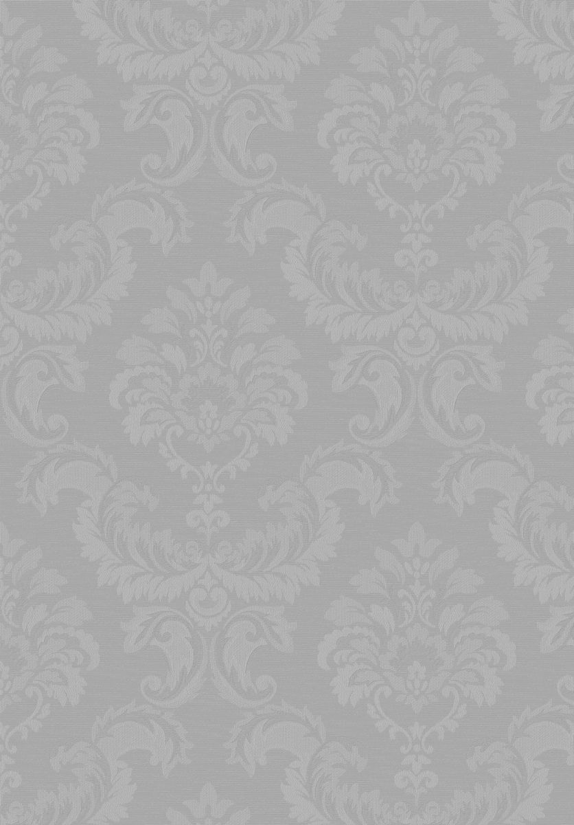 hochwertige tapeten und stoffe tapete simply silks barock silber gl nzend sk34746 decowunder. Black Bedroom Furniture Sets. Home Design Ideas