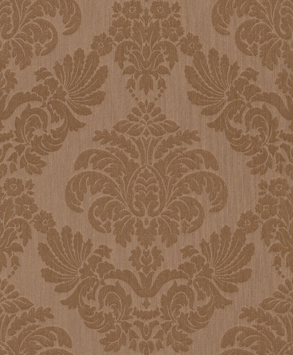 hochwertige tapeten und stoffe tapete mit barockmuster und glitzer 073675 decowunder. Black Bedroom Furniture Sets. Home Design Ideas