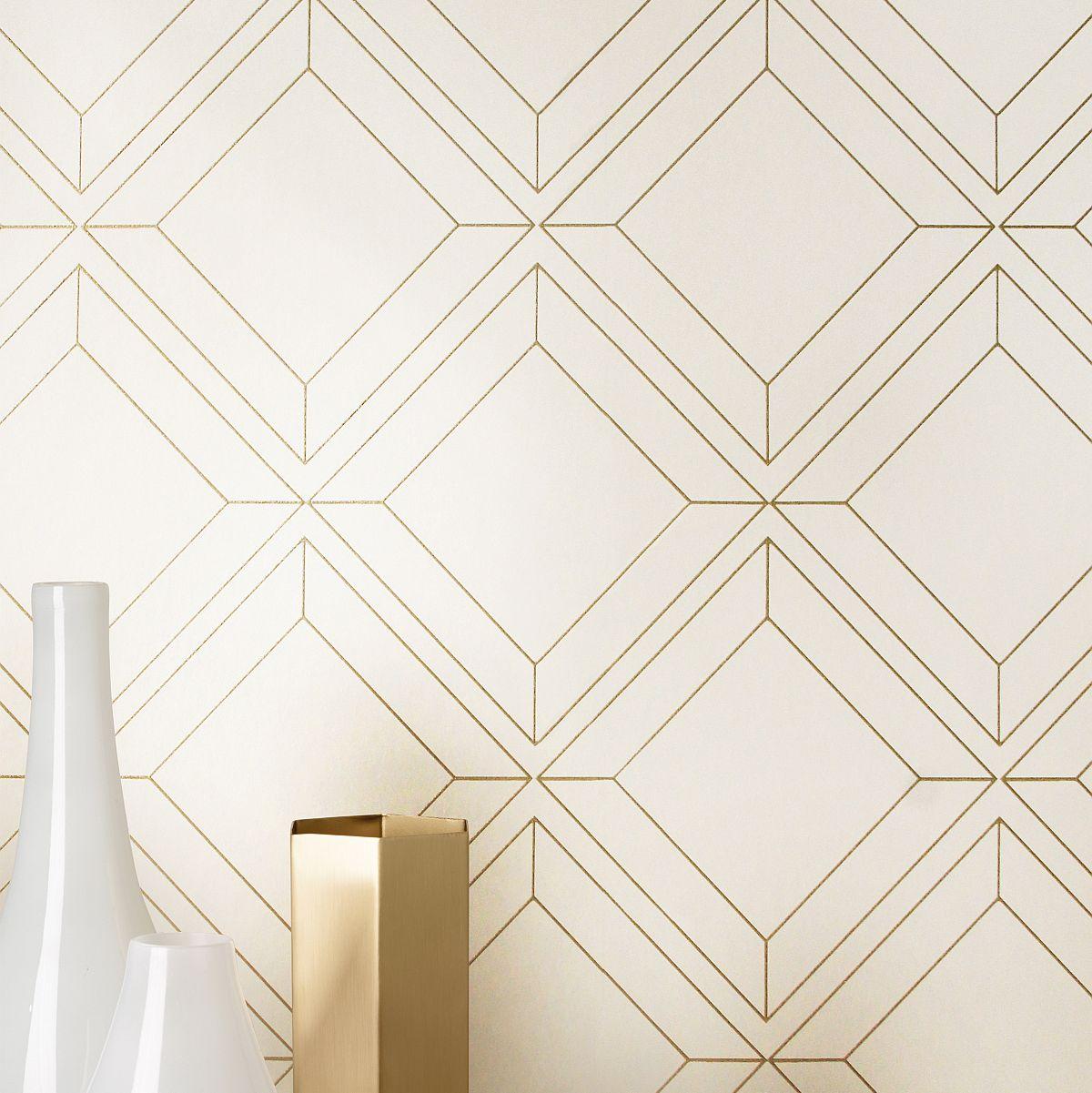 hochwertige tapeten und stoffe vliestapete vico gold. Black Bedroom Furniture Sets. Home Design Ideas