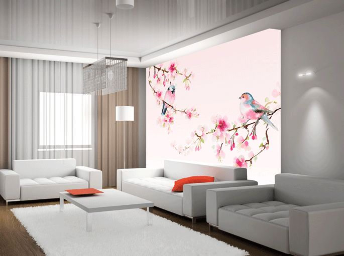 hochwertige tapeten und stoffe fototapete v gel ev1374 decowunder. Black Bedroom Furniture Sets. Home Design Ideas
